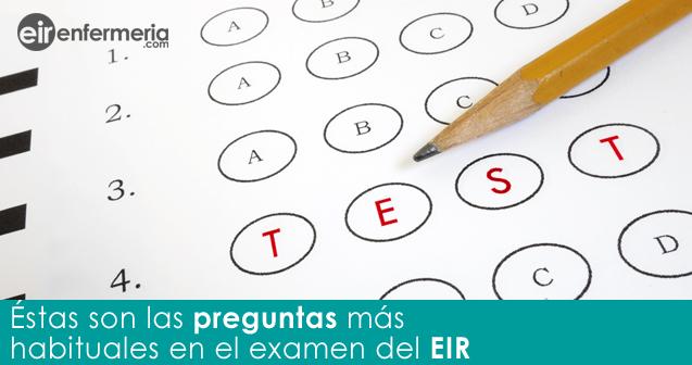 Preguntas del examen del EIR